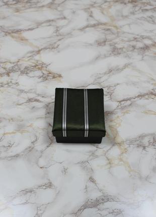 Обнова! галстук в подарочной упаковке сатин в полоску качество5 фото