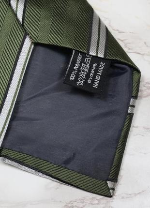 Обнова! галстук в подарочной упаковке сатин в полоску качество3 фото