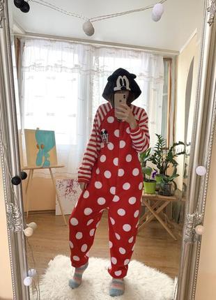 Кигуруми пижама костюм  микки маус