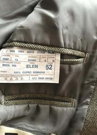 Пиджак италия шерсть 524