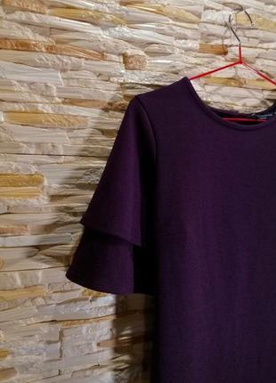 Фирменное платье цвета баклажан dorothy perkins
