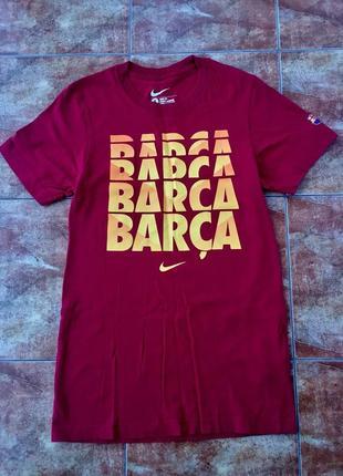Nike barca футболка