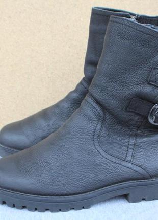 Зимние ботинки caprice кожа германия 37.5р