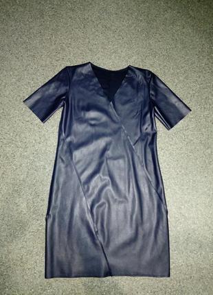 Новое платье из экокожи