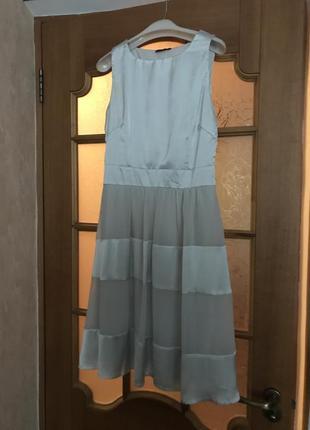 Платье пышное белое
