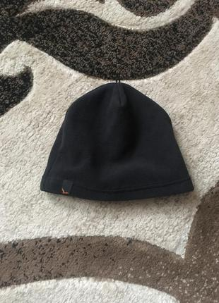 Чорна шапка фліс