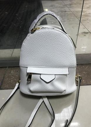 Кожаный рюкзак рюкзак кожаный белый
