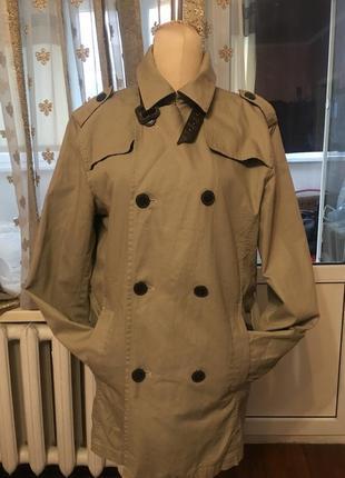 Удлиненная куртка-парка,плащ  . фирма,оригинал!