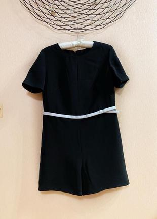Платье комбинезон черный в стиле zara