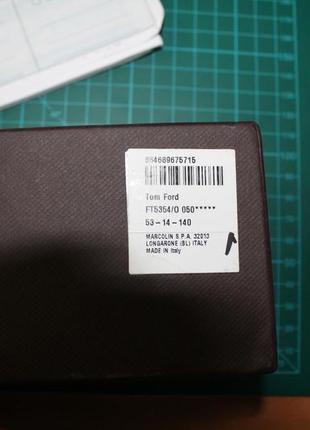 Оправа для очков брендовая tom ford5 фото