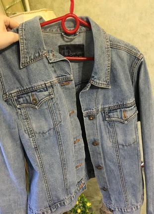 Джинсовка / джнинсовый пиджак / джинсовая курточка