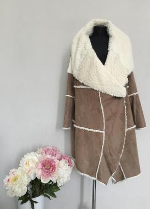 Замечательное меховое пальто , дубленка