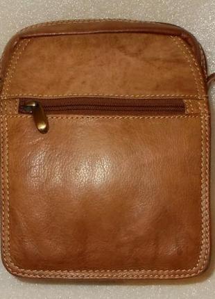 Мужская сумка-мессенджер *nova leather* натуральная кожа