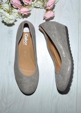 Новые туфли gabor 37р 24см
