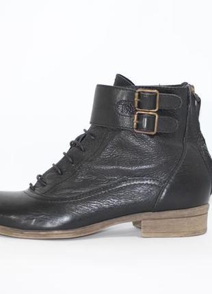Удобные ботинки кожа1