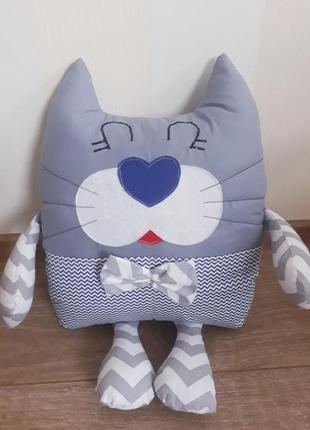 Детская подушка игрушка декоративная подушка бортики в кроватку в