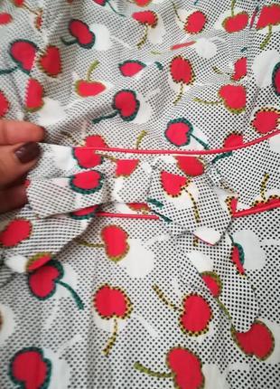 Обалденное платье в вишенку)3