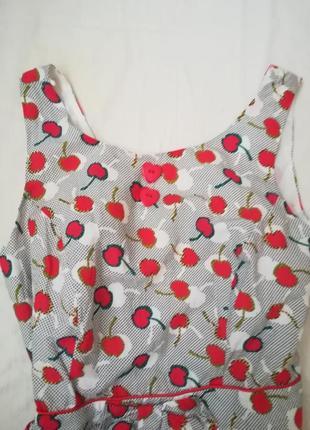 Обалденное платье в вишенку)4