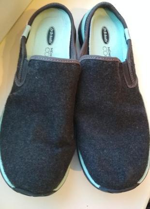 Dr.sholls обувь 23,5см шерсть1 фото