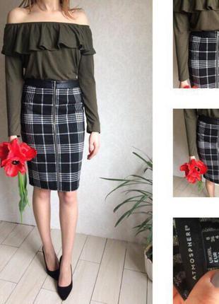 Стильная юбка-карандаш