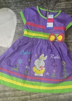 Платье evelyn 2-3г