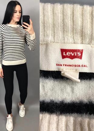 Шерстяной свитер шерсть levis