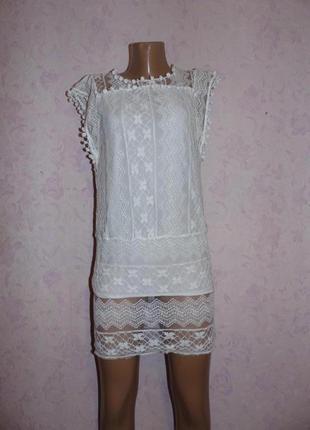 Платье кружевное1 фото