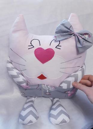 Детская подушка игрушка бортик