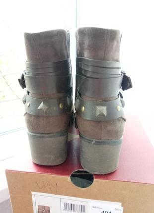 Демисезонные осенние весенние ботинки полусапожки в ковбойском стиле centro3