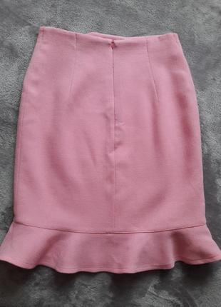 Женственная юбочка из тонкой шерсти4 фото