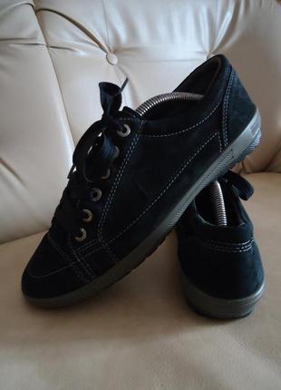 Женские кожаные спортивные туфли кеды legero германия р. 40 стелька 26,5 см dea82776b7d