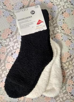 Женские теплые носки esmara- германия размер 35-38 новые (2 пары)1