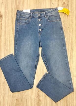 Стильные женские джинсы р.30 от h&m2 фото