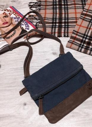 Джинсовая сумочка 👜 через плечо1