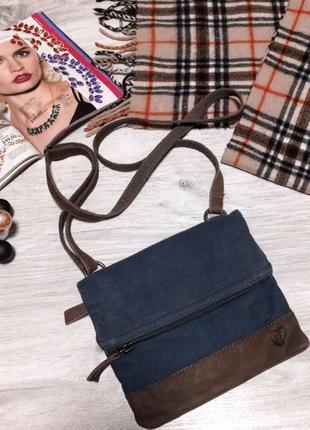 Джинсовая сумочка 👜 через плечо2