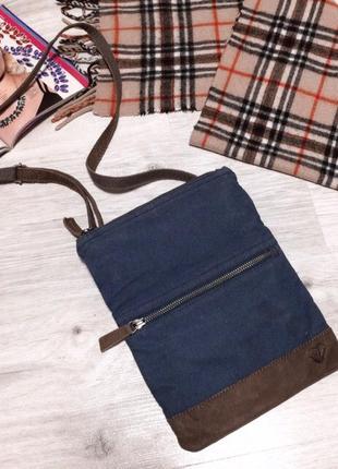 Джинсовая сумочка 👜 через плечо3