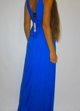 Яркое красивое платье - с красивой спинкой! есть бирка ( 1400грн )2 фото
