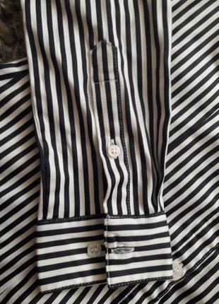Рубашка женская в полоску h&m3