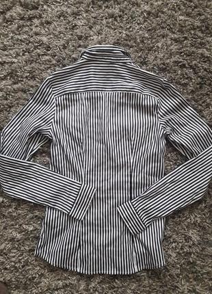 Рубашка женская в полоску h&m4
