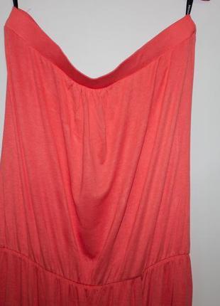 Яркое платье - ткань вискоза - warehouse definitives4
