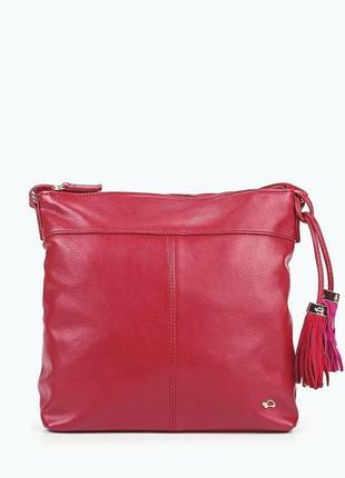 Красная сумка на плечо carpisa2 фото
