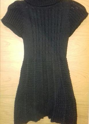 Платье туника тёплое с горлом1