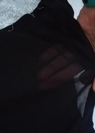 Милая мохнатая кофта с прозрачной спинкой4