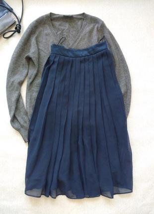 Красивая юбка плиссе плиссированная от h&m1