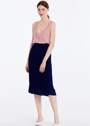 Красивая юбка плиссе плиссированная от h&m5