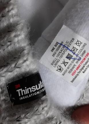 Шапка на флисе thinsulate3