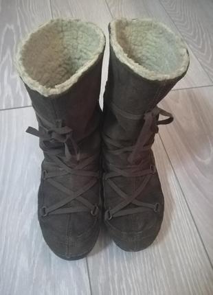 Зимние сапоги/валенки/замшевые сапоги