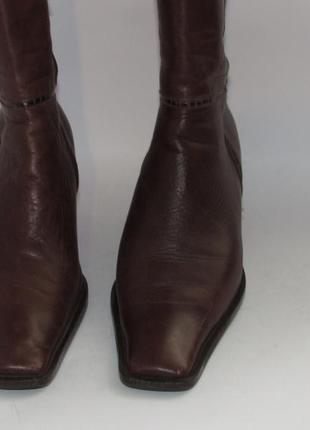 Jurek германия женские кожаные ботинки 38р ст.24,5см m293