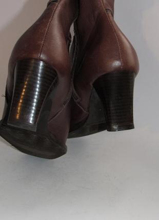 Jurek германия женские кожаные ботинки 38р ст.24,5см m294