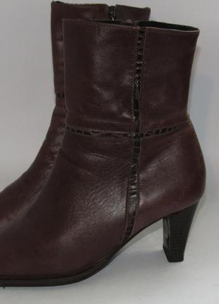 Jurek германия женские кожаные ботинки 38р ст.24,5см m291 фото